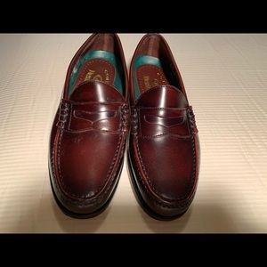 Dexter burgundy penny loafers
